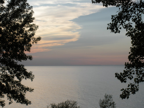 view of Lake Ontario