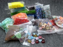 I never get tired of receiving beads and buttons as gifts.