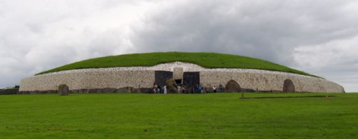 Newgrange Co. Meath Ireland Oldest Building in the world
