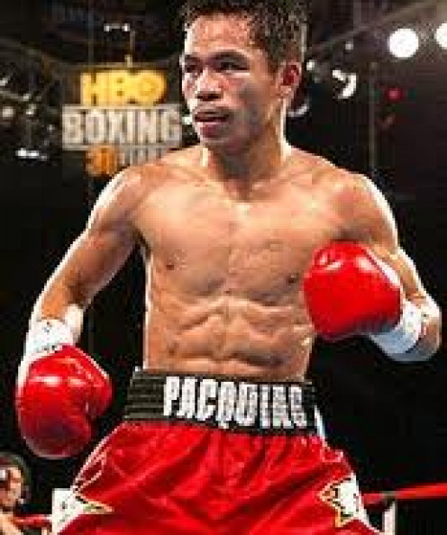 Manny Pacquiao is a congressman in the Philippines. He is also the only fighter in boxing history to have won championships in eight different weight classes.