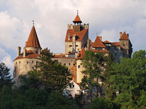 A view of Bran Castle / Dracula's Castle near Brasov, Romania.