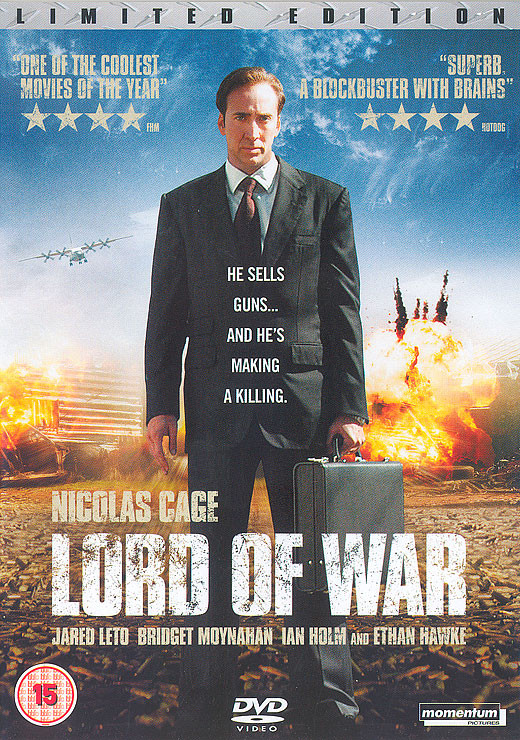 Lord of War - DVD Cover