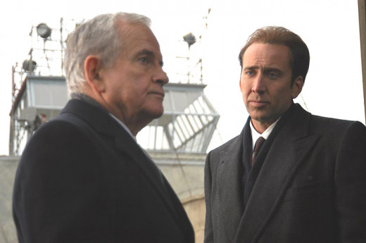 Ian Holm and Nicholas Cage