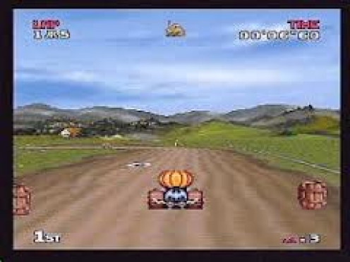 Atari Karts was Atari's response to Mario Karts. It was very fun whether your a child or an adult.