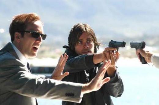 Nicolas Cage and Jared Leto