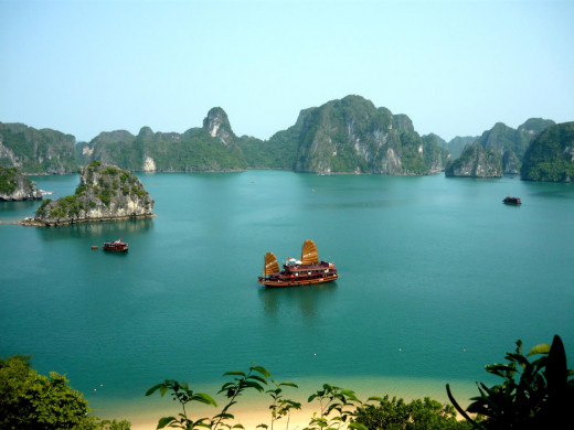 Vietnam's Halong Bay – It has become one of the new seven wonders of nature since November 2011