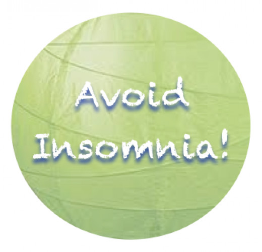 Find the cause, decide to change--avoid insomnia when you can!