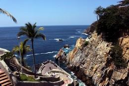 Observing Cliff Dives at la Quebrada
