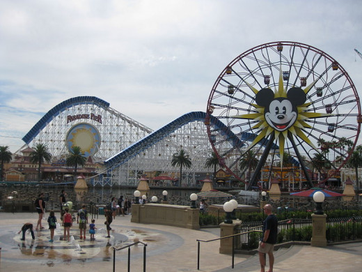 Paradise Pier at Disney's California Adventure