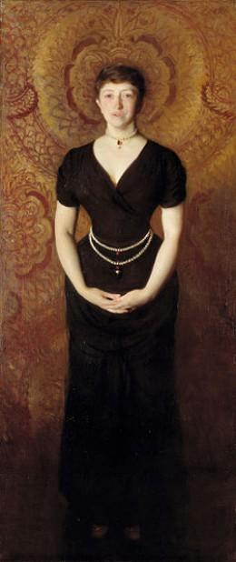 Portrait of Isabella Gardener by John Singer Sargent