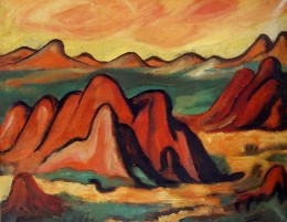 Painting by Marsden Hartley.