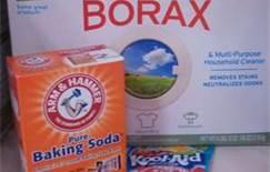 Borax and baking soda