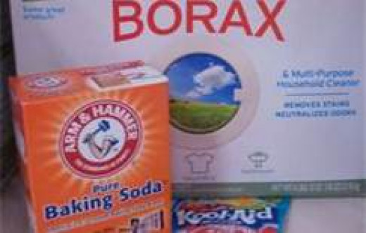 Borax and baking soda