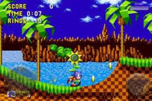Sonic the Hedgehog was released on the Sega Genesis 16  bit home gaming system. Sonic eventually became the official mascot of the Sega corporation.