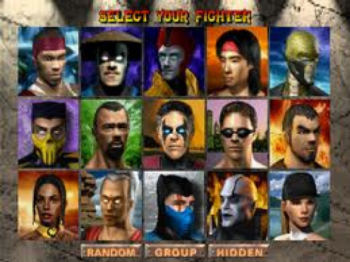 Mortal Kombat is rated m for extreme violence and it has had several sequels. It's one on one competition at its bloody best. Each fighter has a unique and deadly finishing move.