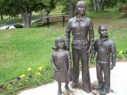 The Family, Porcupine Miners' Memorial, Schumacher, Timmins