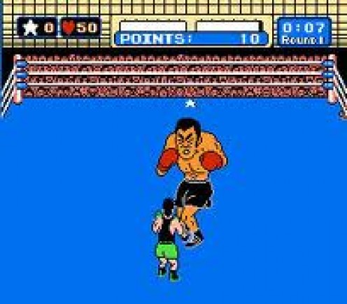 Mike Tyson's  Punch Out featured Lil Mac who has to fight his way to a title bout against Iron Mike Tyson.
