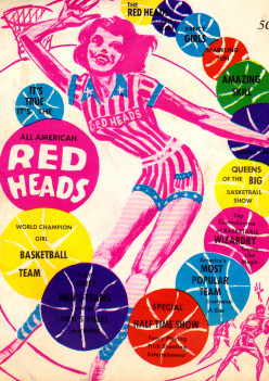 All American Red Heads: Professional Women's Basketball Team Of The Past