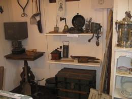 Kitchen  Behind parlor
