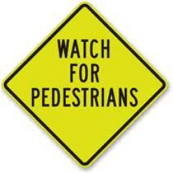 Should pedestrians really have the right of way or pause and wait for their safety?