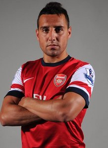 Creative midfielder Cazorla