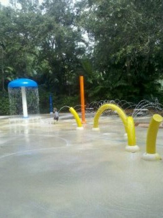 Splash n Play at Pinecrest Gardens