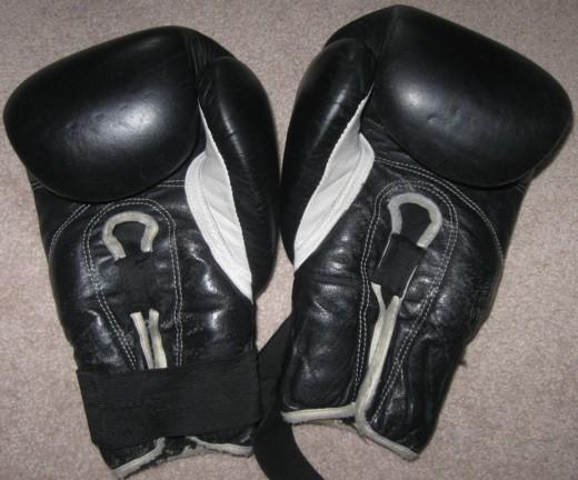 My kickboxing gloves