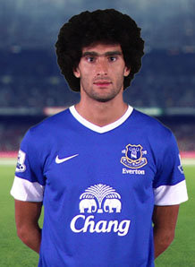 Vital attacking midfielder Fellaini