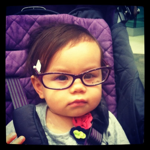 Hipster Baby Girl Glasses of the kind Ariel would wear after being enlightened.
