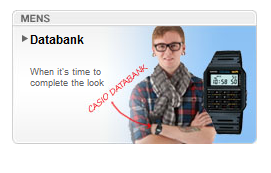 Impressing with your calculator watch wasn't even cool in the 80's, but Casio is reviving the market somehow (check out their webpage!) They totally nailed it, shirt and all!