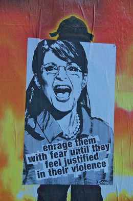 Sarah Palin Poster from Steve Rhodes Source: flickr.com