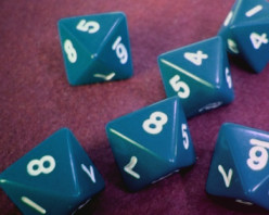 Probability of Rolling Sums on a Pair of Octahedral (8-Sided) Dice