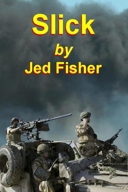 Slick book cover.