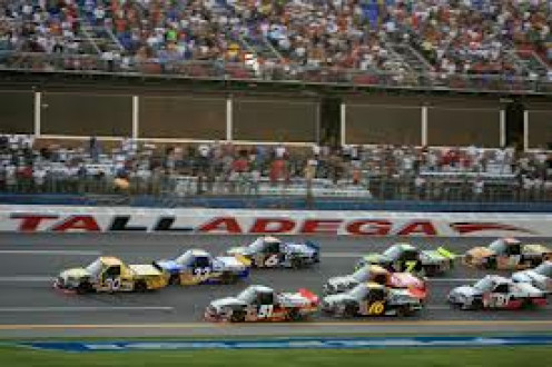 Talladega Super Speedway showcases Nascar races on a normal basis. Fans attend the event and even camp out not far from the actual track.