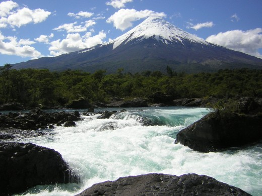 The Osorno Volcano placed at the heart of Nazi activity in Chile