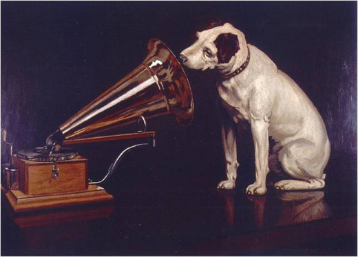 HMV  His Master's Voice