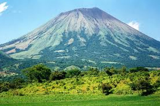 This volcano represents the ongoing seismic activity in the region.