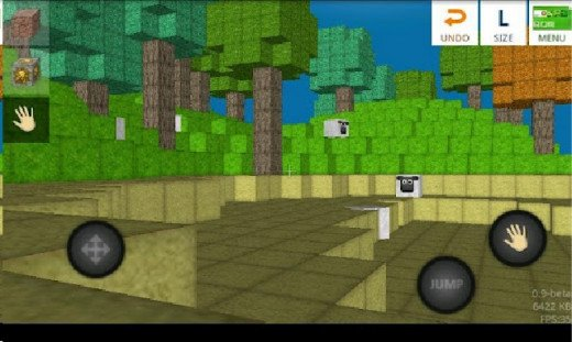 Blockworld is an Android game like Minecraft and has lite and premium versions.