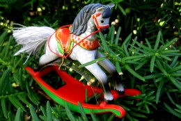 Christmas Pony Ornament