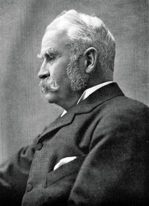Sir William Schwenck Gilbert.