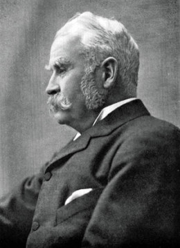 Sir William Schwenck Gilbert.