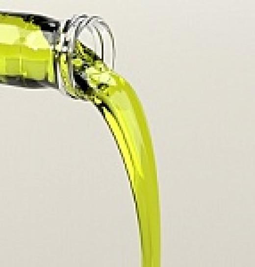 Olive oil adds taste