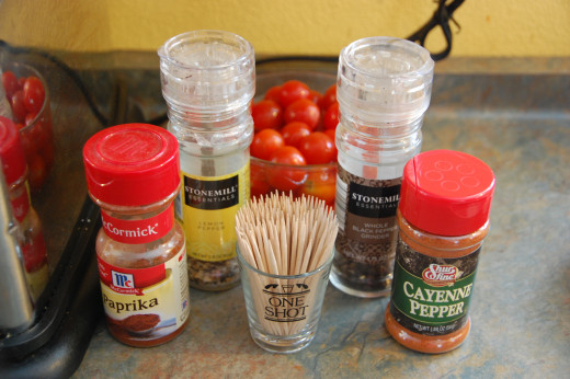 Four spices to make the seasoning