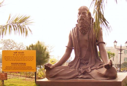 Patanjali Statue at Patanjali Yog Peeth, Haridwar, India