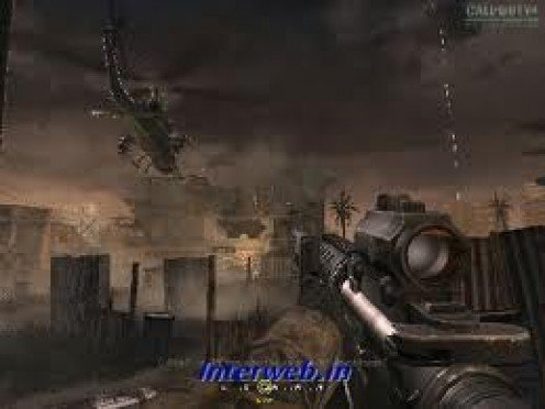 Modern Warfare 2 featured in your face, first person action with explosives and destructive  guns. You can zoom in and aim or free fire all over the jungles.