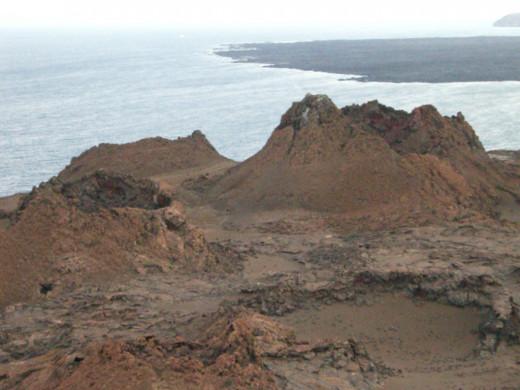 Rough texture Santa Cruz, Galapagos