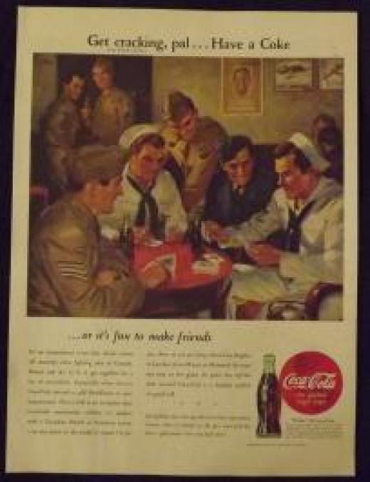 1945 Coca-Cola Ad
