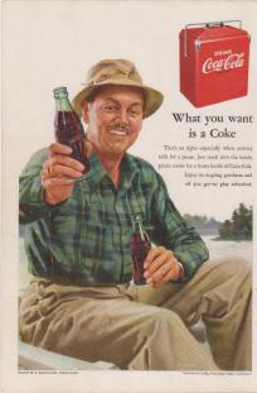 1952 Coca-Cola Ad