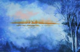 Dawn Flight.  Pastel on Paper