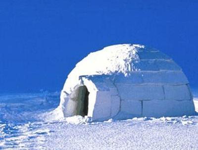 Eskimos house